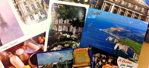 Ecrire une carte postale